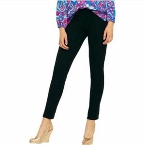 LILLY PULITZER | Black Ponte Knit Travel Pants | S